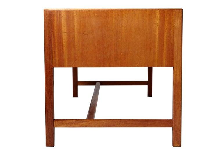 Scandinavian Modern Vintage Josef Frank Mahogany Desk, Sweden, circa 1930 For Sale