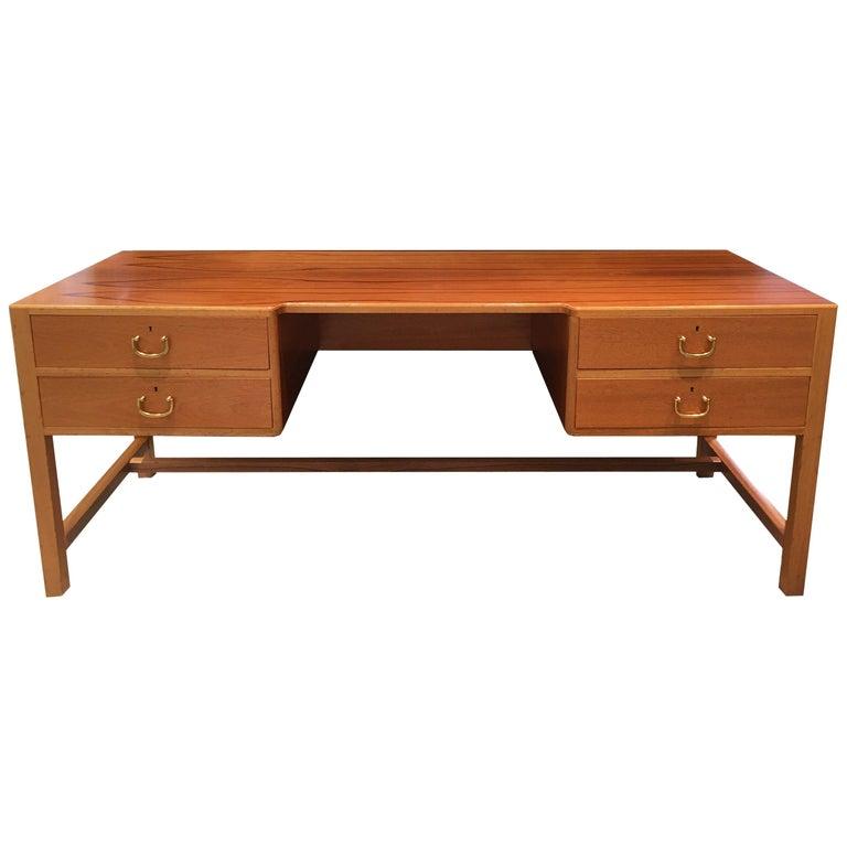 Vintage Josef Frank Mahogany Desk, Sweden, circa 1930 For Sale