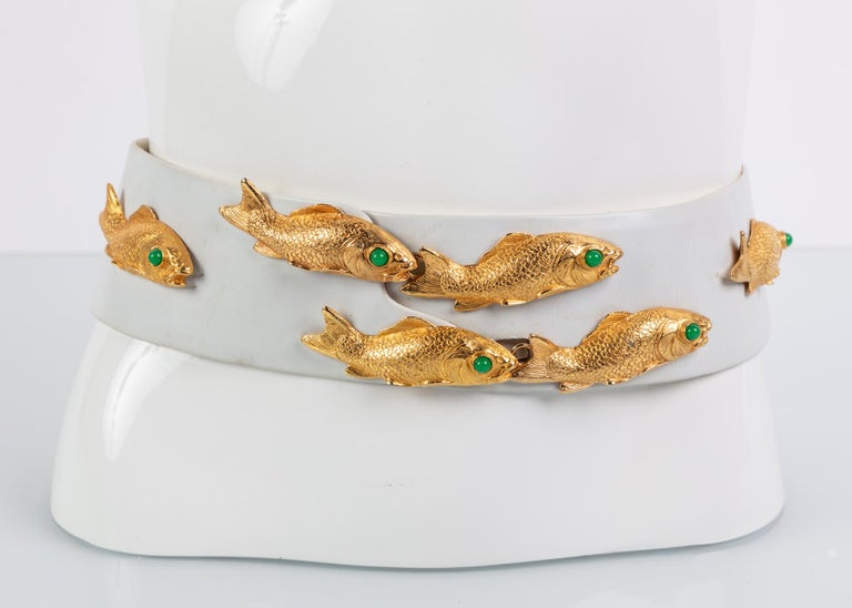 Judith Leiber was a notable accessories designer from Hungary. With her designs being internationally acclaimed, Leiber's work can be found in high-end retailers and boutiques. Often times encrusted with Swarovski crystal, Leiber's work tends to be