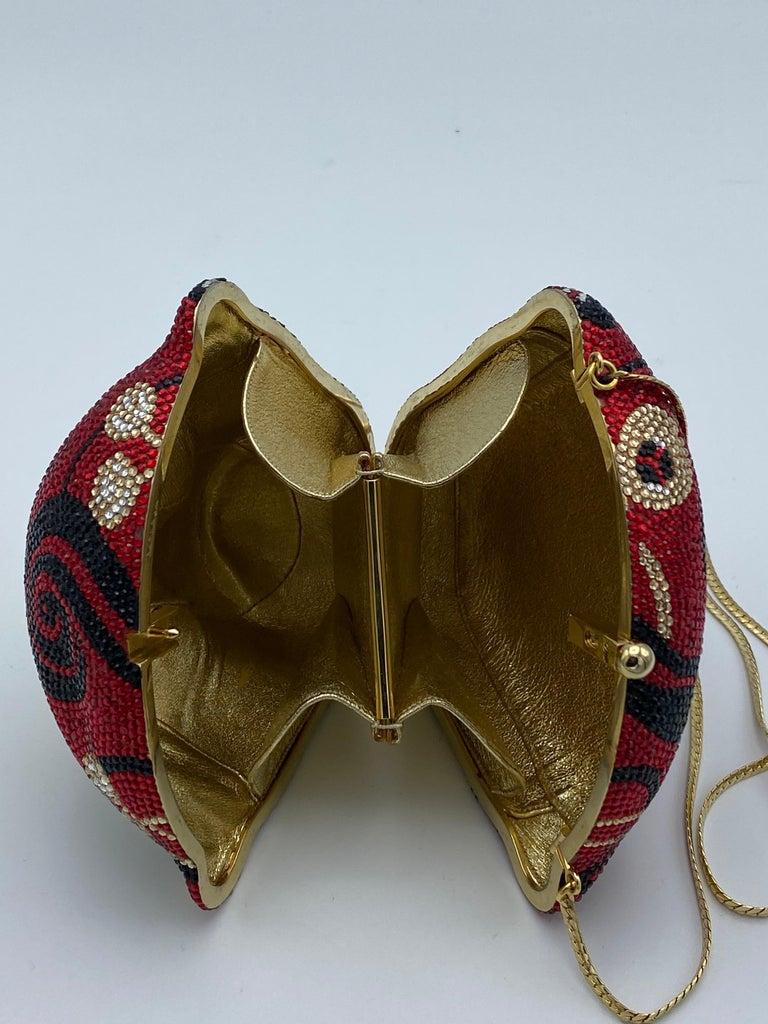 Vintage Judith Leiber Monkey Crossbody Clutch Handbag  For Sale 5