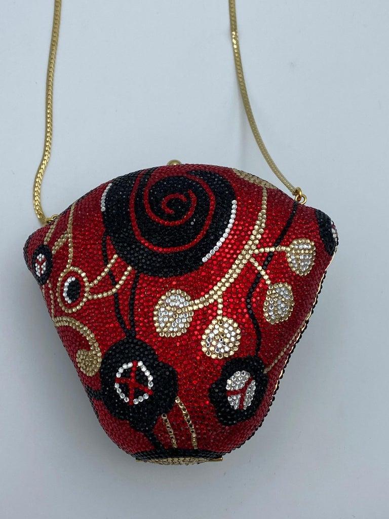 Women's Vintage Judith Leiber Monkey Crossbody Clutch Handbag  For Sale