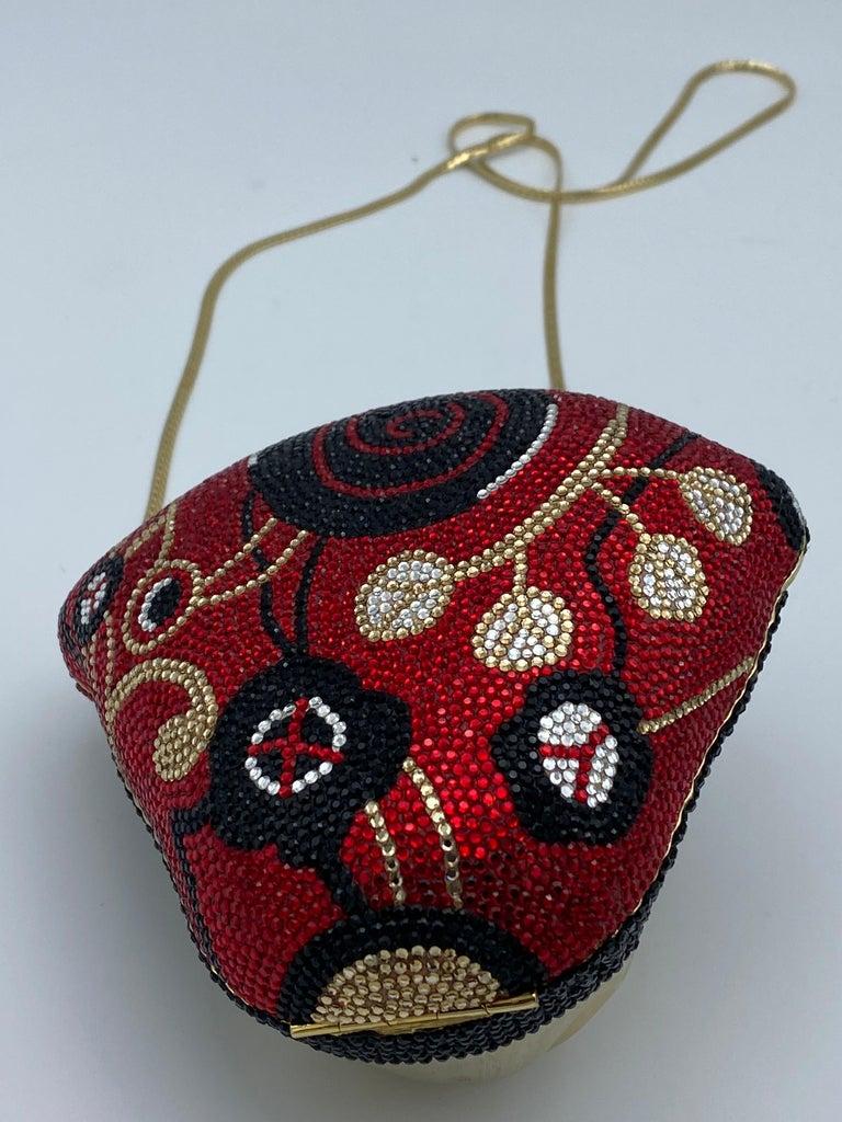 Vintage Judith Leiber Monkey Crossbody Clutch Handbag  For Sale 1