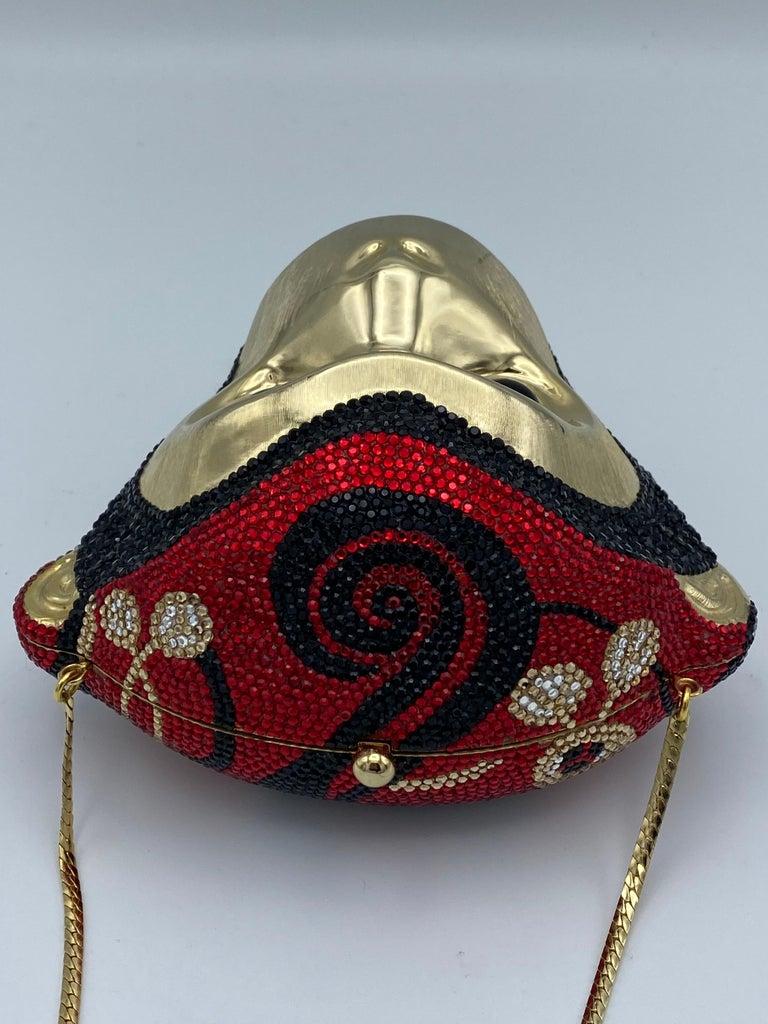 Vintage Judith Leiber Monkey Crossbody Clutch Handbag  For Sale 2