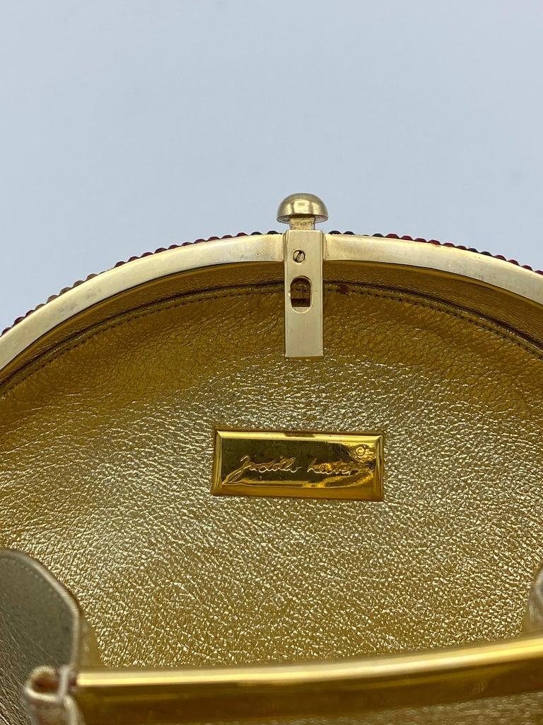 Vintage Judith Leiber Monkey Crossbody Clutch Handbag  For Sale 4