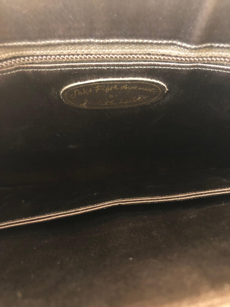 Vintage Judith Leiber Snakeskin Handbag for Saks Fifth Avenue Two Ways For Sale 3