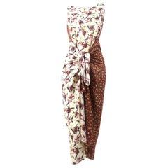 Vintage Junior Gaultier 1980's Wrap Dress