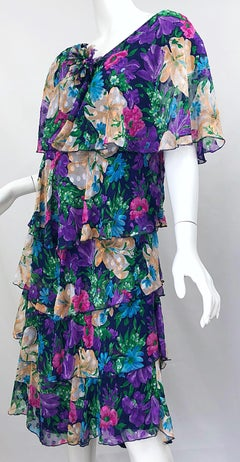Vintage Ruffled Justin David dress