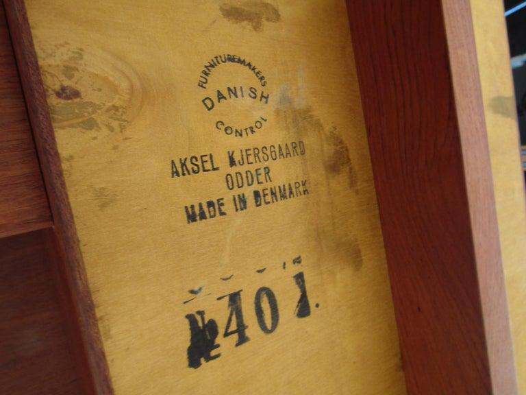 Vintage Kai Kristiansen Vanity Table and Stool by Aksel Kjersgaard For Sale 7