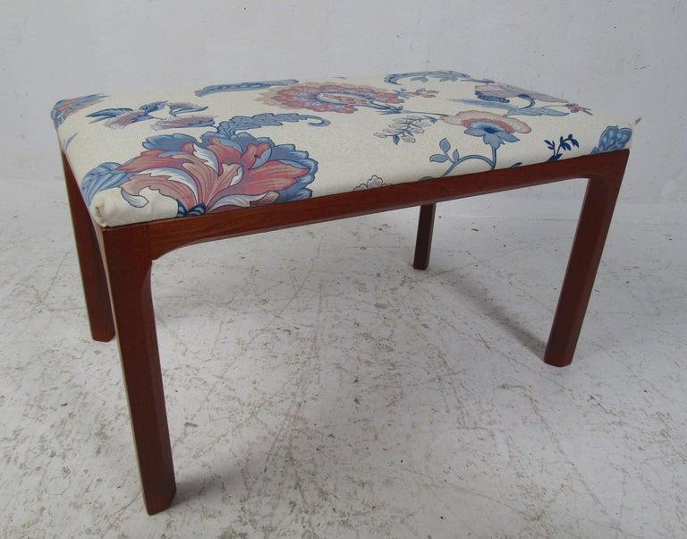 Mid-20th Century Vintage Kai Kristiansen Vanity Table and Stool by Aksel Kjersgaard For Sale