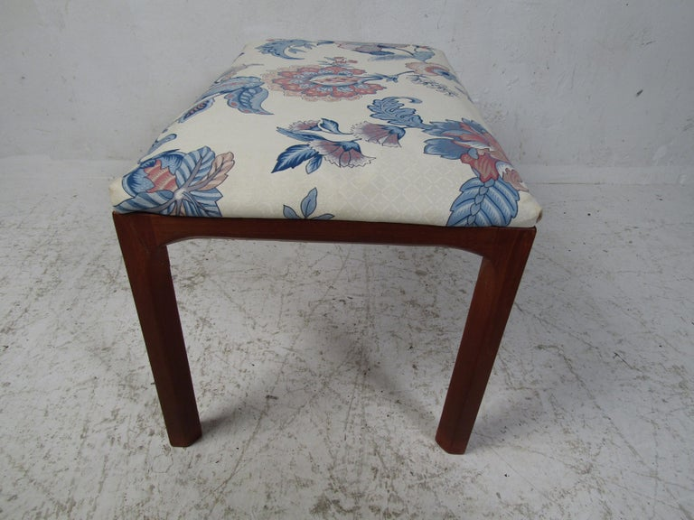 Fabric Vintage Kai Kristiansen Vanity Table and Stool by Aksel Kjersgaard For Sale
