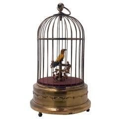Vintage Karl Griesbaum Singing Bird Automaton