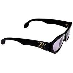 Vintage KARL LAGERFELD KL Logo Sunglasses