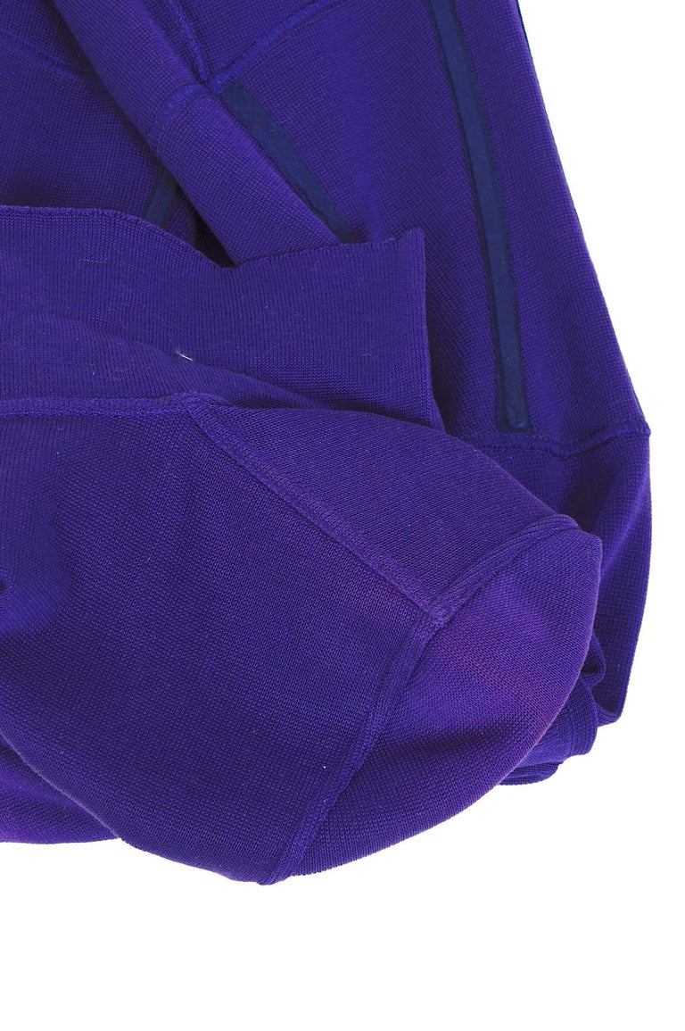 Vintage Karl Lagerfeld spring summer 1995 cotton jersey corset mini dress For Sale 4