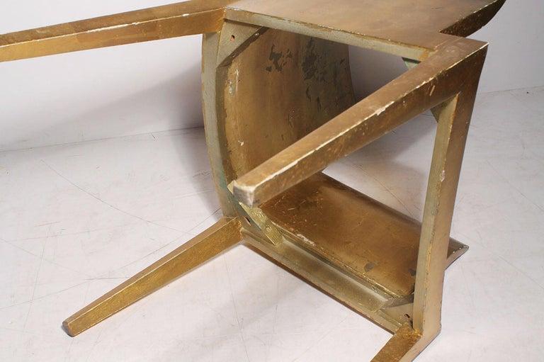 Vintage Karl Springer JMF Armchair (Gilt) by Enrique Garcel for Jimeco For Sale 2