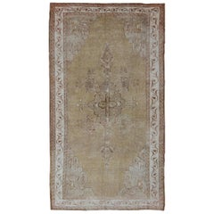 Vintage Kars Rug from Turkey with Earthy Color Palette