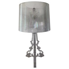 Vintage Kartell Bourgie Lamp in Crystal by Ferruccio Laviani