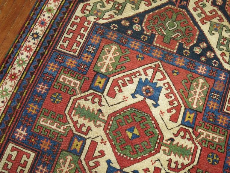20th Century Vintage Kazak Rug For Sale