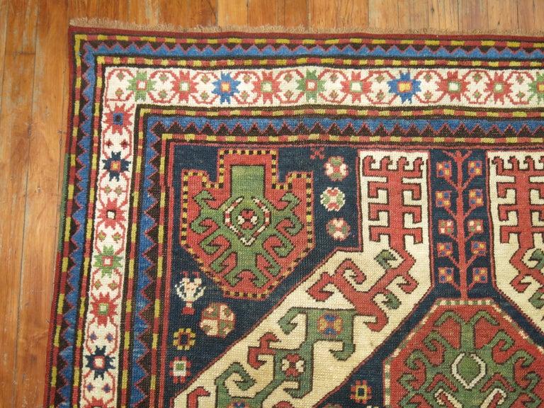 Vintage Kazak Rug For Sale 1