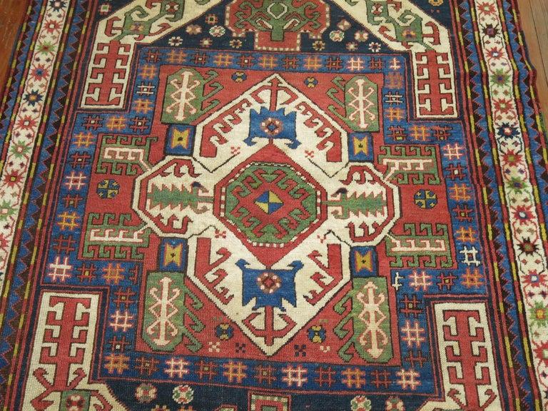 Vintage Kazak Rug For Sale 2