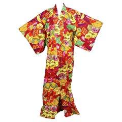 Vintage KENZO Floral Haori Kimono Coat