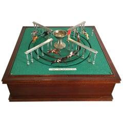 Vintage Key Wind Horse Race Game