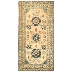 Vintage Khotan 'Samarkand' Botanic Carpet