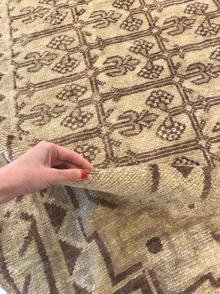Vintage Khotan (Samarkand) rug Size: 10'7
