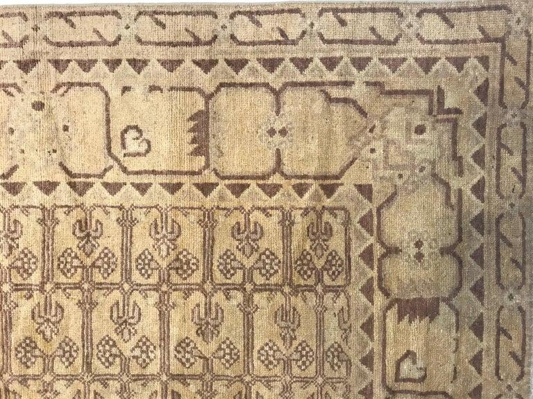 Uzbek Vintage Khotan (Samarkand) Rug For Sale
