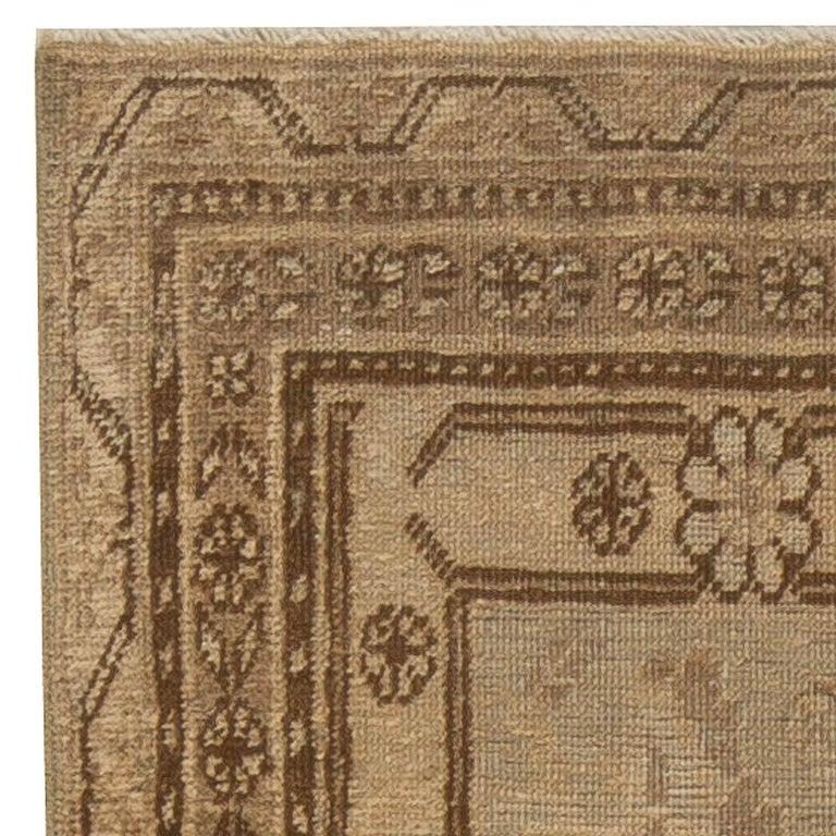 Hand-Knotted Vintage Khotan 'Samarkand' Rug For Sale