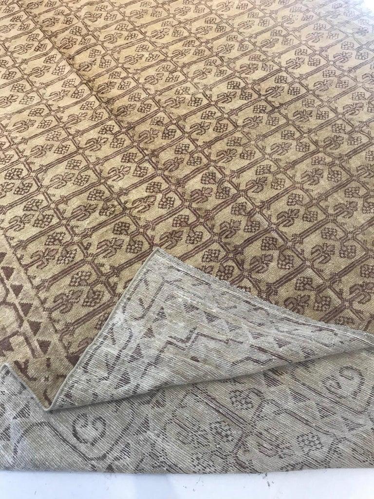 Hand-Woven Vintage Khotan (Samarkand) Rug For Sale