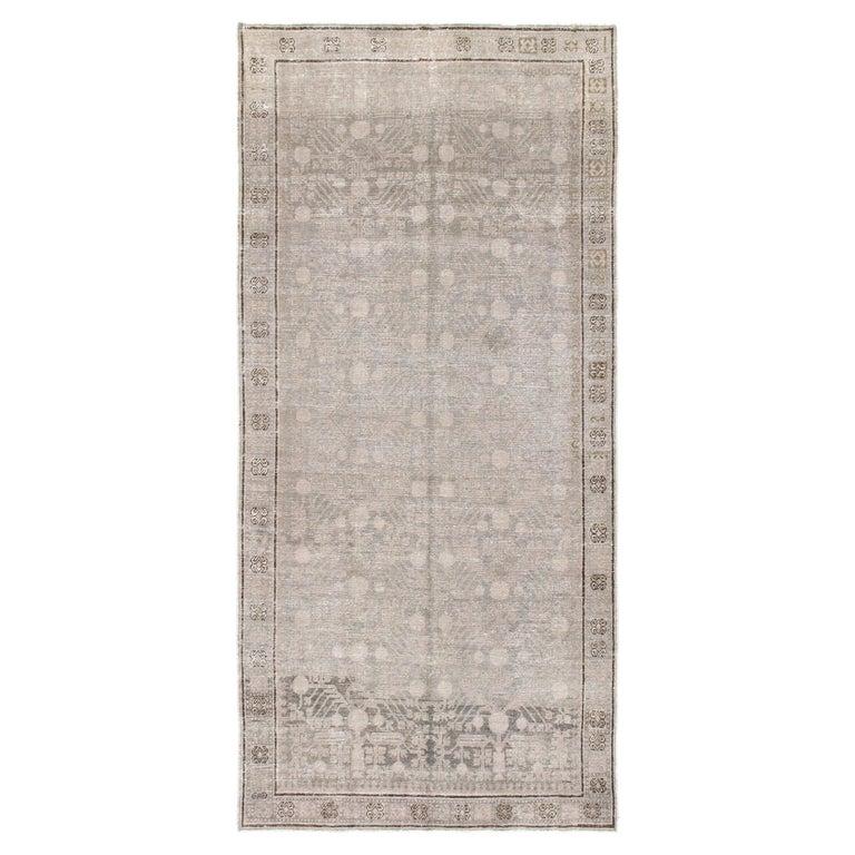 Vintage Khotan Samarkand Rug For Sale