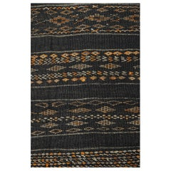 Vintage Kilim Berber Moroccan Zemmur Long Runner