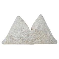 "Vintage Kilim Berber Tribal Pillow / Natural Tone & Texture / ""in stock"""