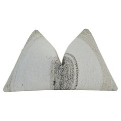 "Vintage Kilim Berber Tribal Pillow / Natural Tone & Texture ""in stock"""