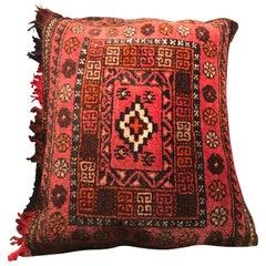 Vintage Kilim Camel Bag Cushions