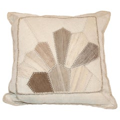 Vintage Persian Kilim Composition Cushion