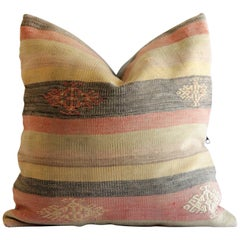 Vintage Kilim Rug Accent Pillow
