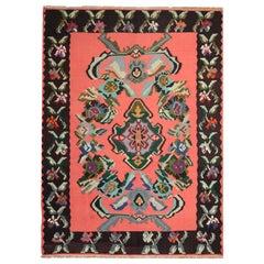 Vintage Kilim Rugs, Traditional Turkish Handmade Carpet Oriental Rug