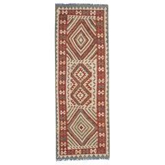 Vintage Kilims, Runner Rug Handmade Carpet Wool Kilim Rug