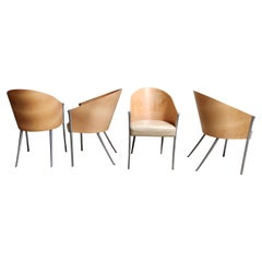 Vintage King Costes Chairs by Philippe Starck for Aleph, Set of 4