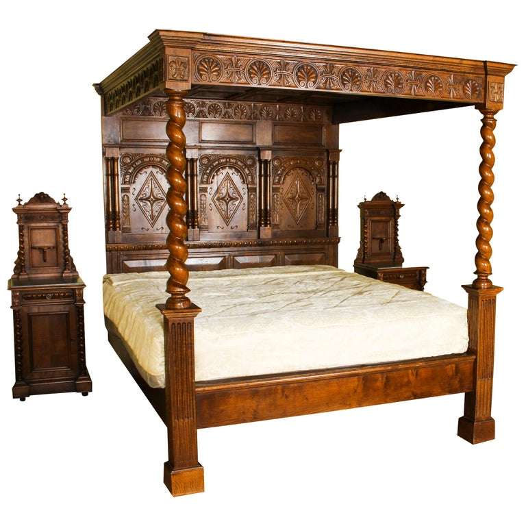 Four Poster Bed Kings 10 For On