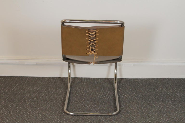 Vintage Knoll Chair by Miles van der Rohe circa 1950s For