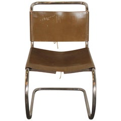 Vintage Knoll Chair by Miles van der Rohe, circa 1950s