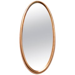 Vintage Labarge Oval Giltwood Wall Mirror