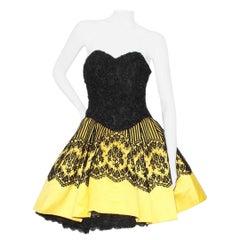 Vintage Christian Lacroix Vintage Haute Couture Pouf Dress