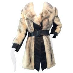 Vintage Ladies Fur Coat by Juan de Cirota