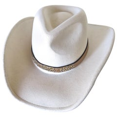 Vintage Lady's Western Style Cowgirl Hat by Dorfman Pacific Company, American