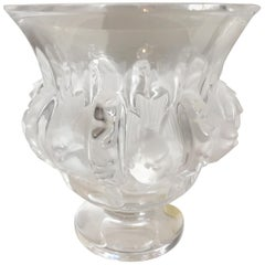 Vintage Lalique Crystal Vase Mother's Day Gift