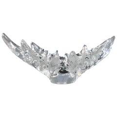 Vintage Lalique Medium Champs-Élysées Crystal Centerpiece Bowl