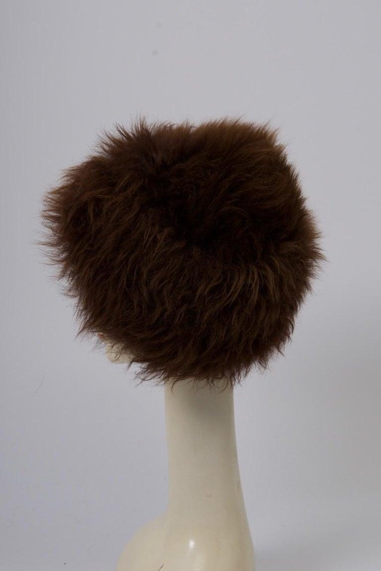 Vintage Lamb Hat For Sale 1